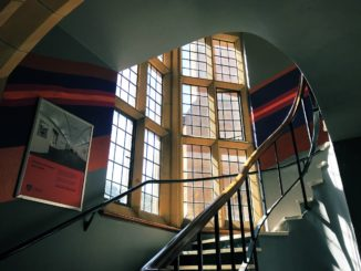 An image of the ladder view shot in the Quadrangle