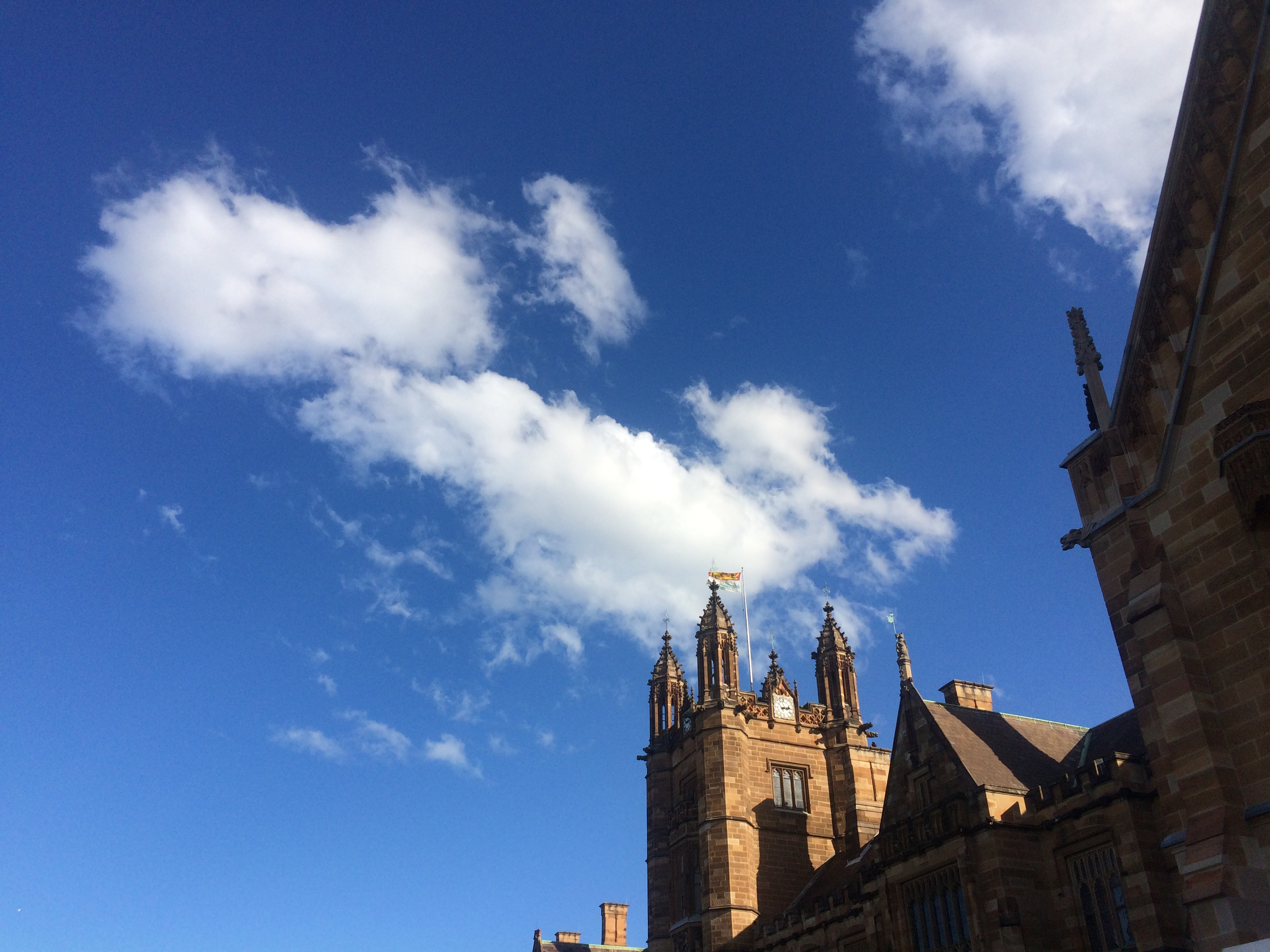 The noon of Sydney Uni