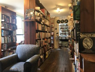 Inside Sappho Books in Glebe