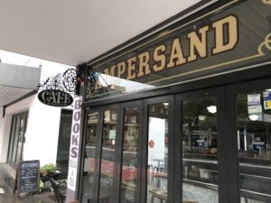 Ampersand bookshop front