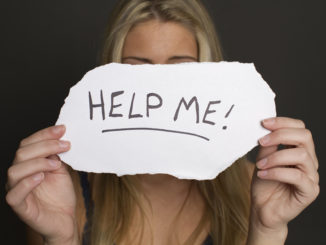 a teenager calls for help