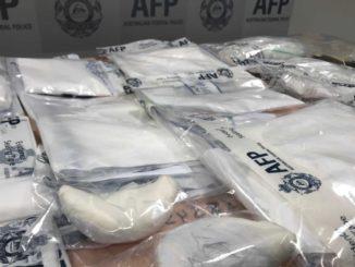 Australian police, drug