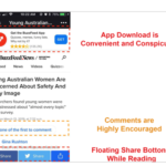 Mobile web of BuzzFeed.