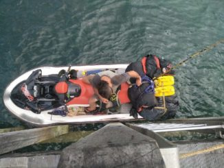 Man arrested after attempting to flee Australia on a jet-ski
