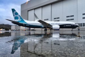 the photo of Boeing 737 MAX 8