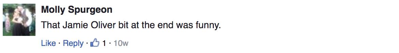 Screenshot: comments