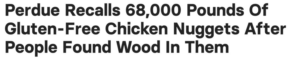 Screenshot:Headline of Buzzfeed news