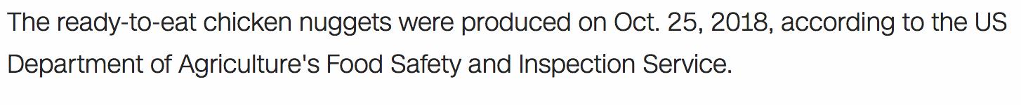 Screenshot: paragraph from the CNN news
