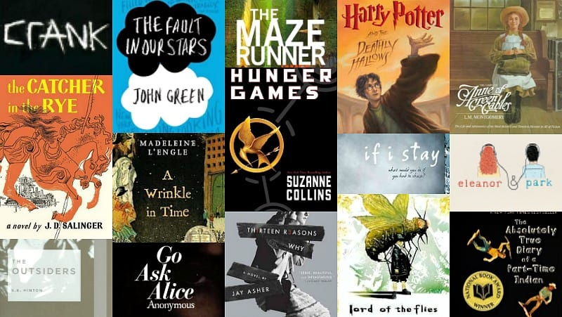 Examples of YA literatures