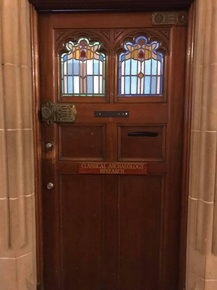 Quadrangle doors in university of sydney