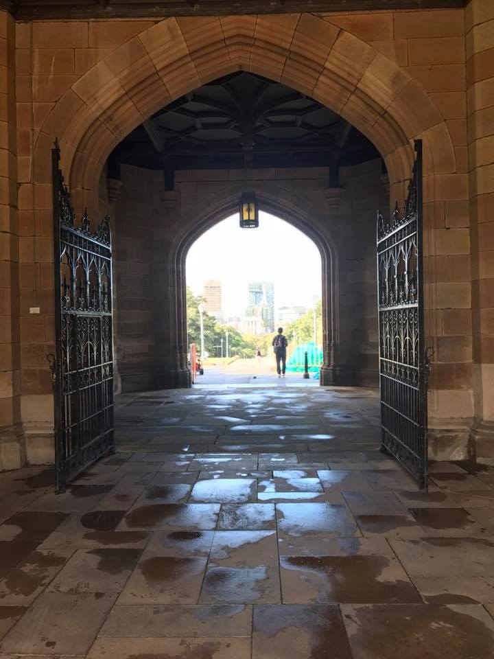 quadrangle at university of sydney