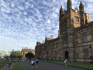 Quadrangle at University of Sydney