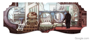 "Google Doodles honors the ""Forking Story"""