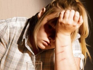feature image of teenager self-harm