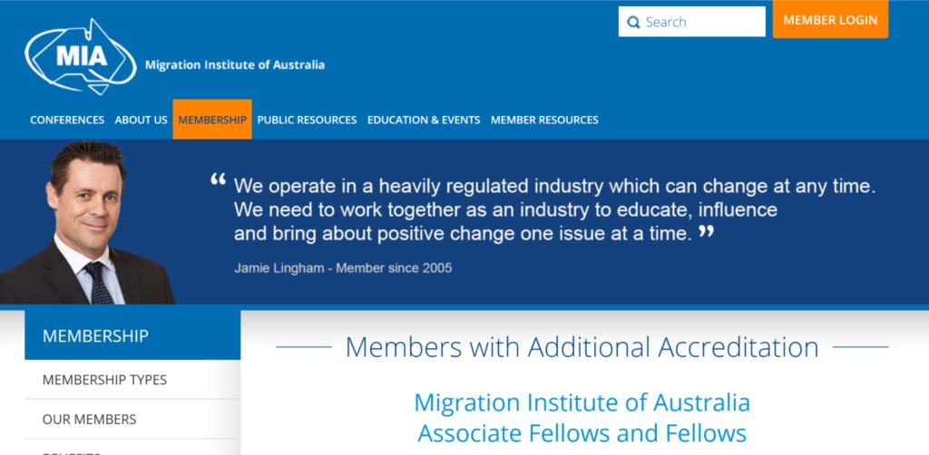 migration insitute of Au