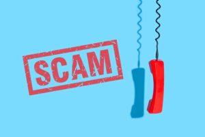 Scam phone