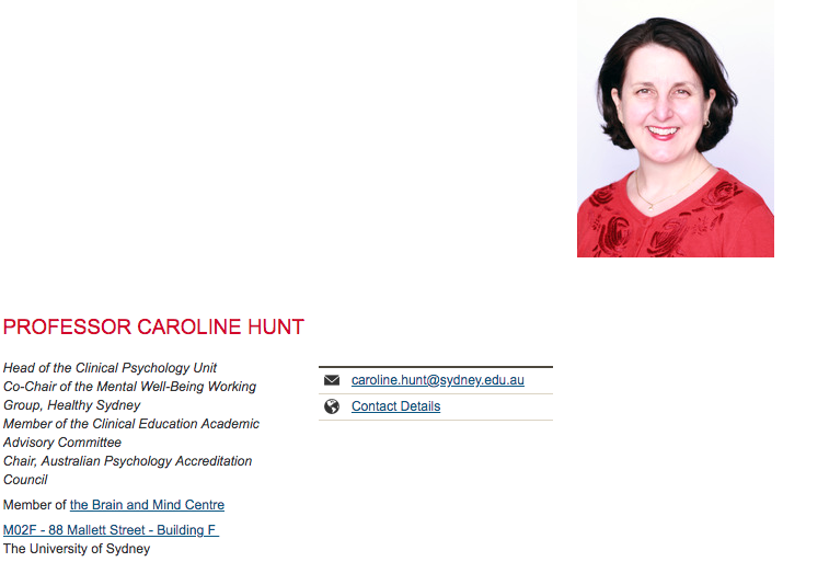 Professor-Carolin Hunt