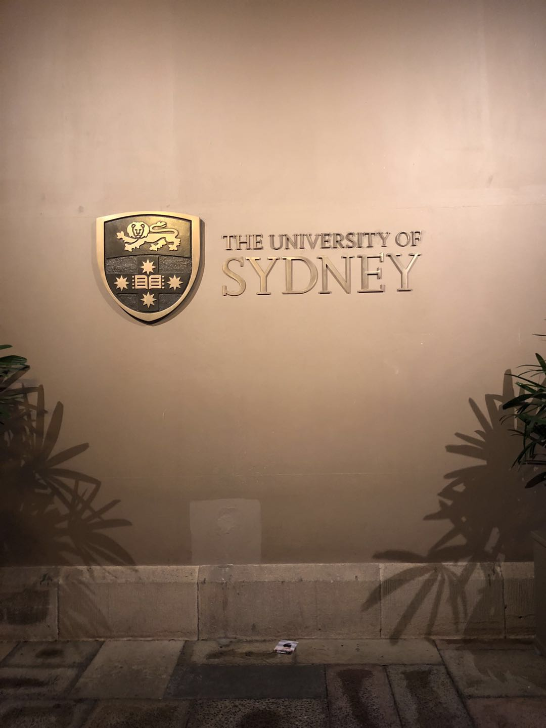 USYD logo in Quadrangle