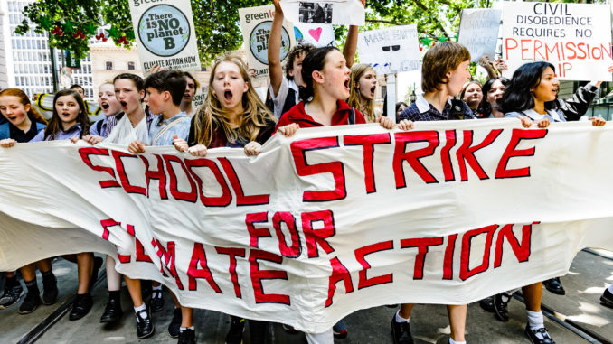 Melbourne School Strike For Climate Action