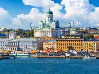 Finland's capital Helsinki.