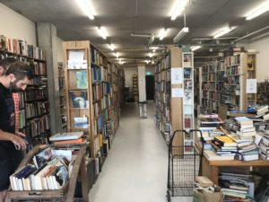 Inside of Gould's Book Arcade