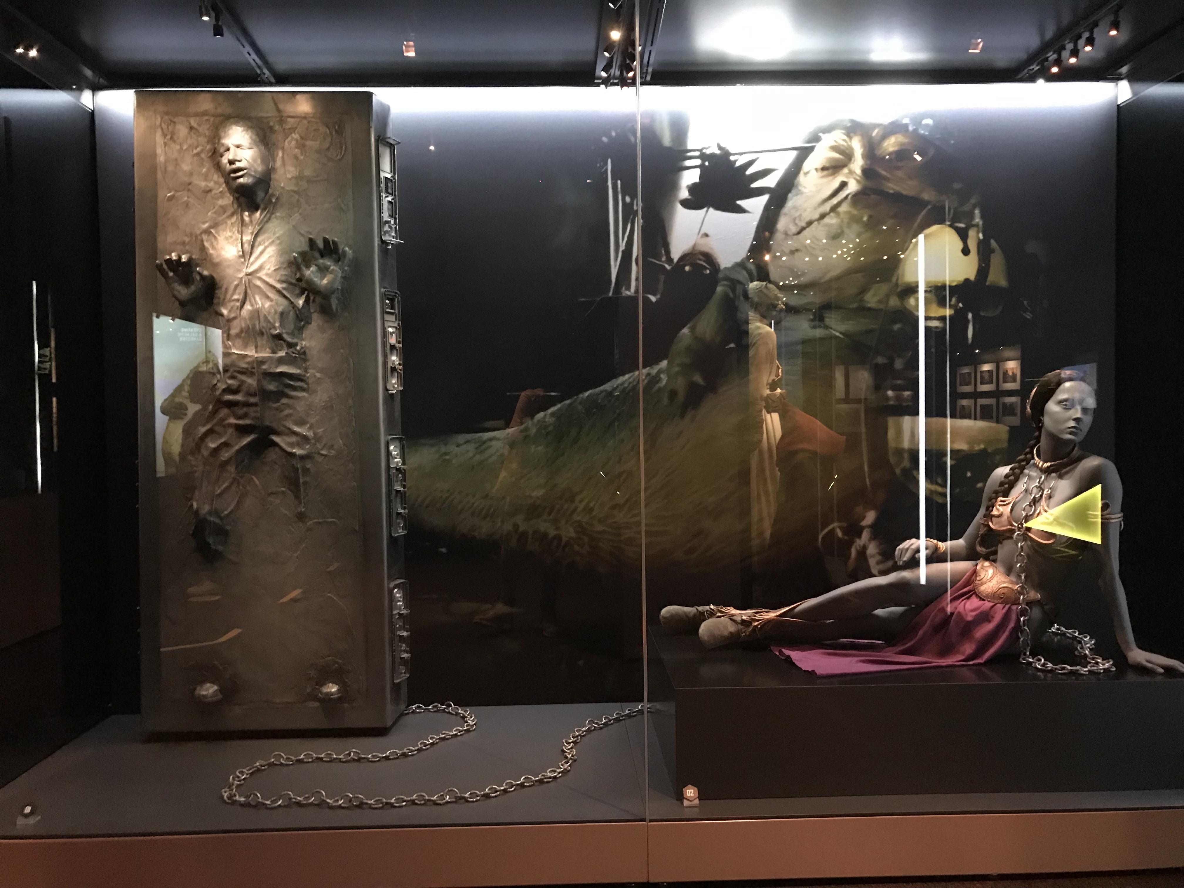Princess Leia's metal bikini