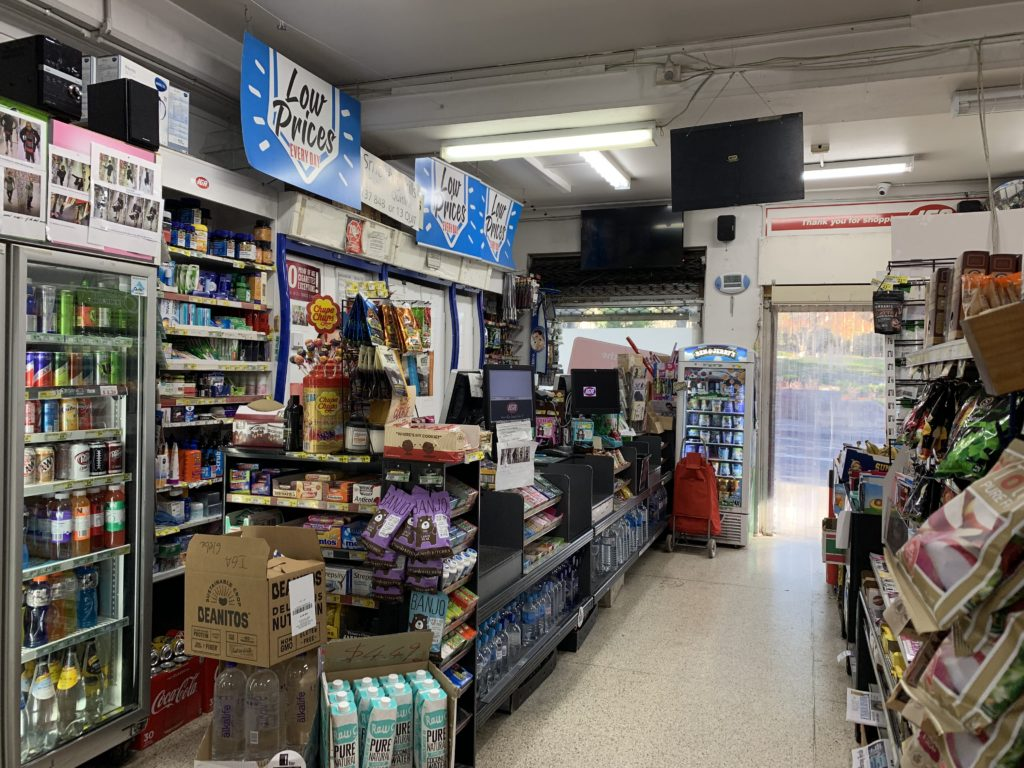 The convenience store TGA is full of articles, supporting the daily requirement of nearby residents