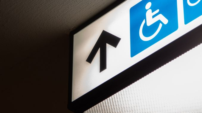 Disabled Signage
