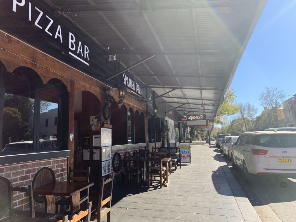 Restaurants on Glebe Point rd appear one after another
