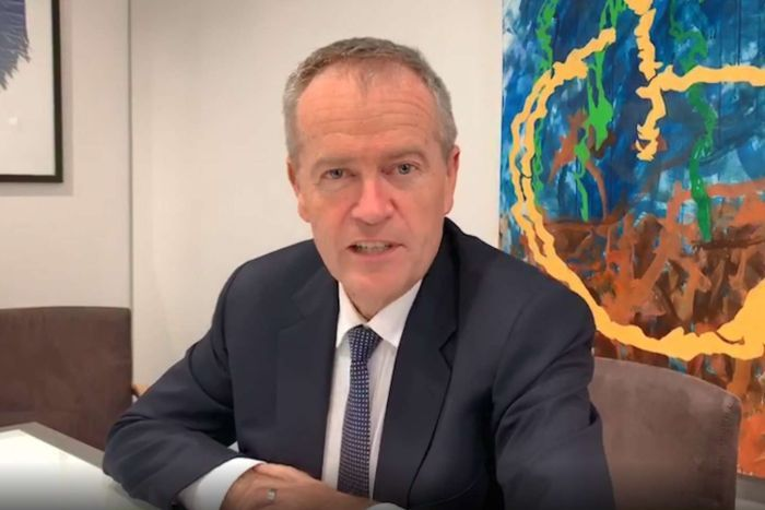 Bill Shorten going live on WeChat