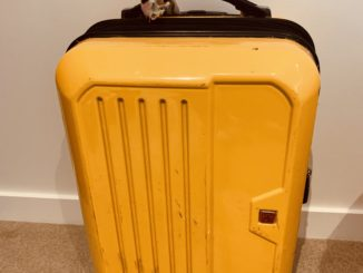 My yellow case