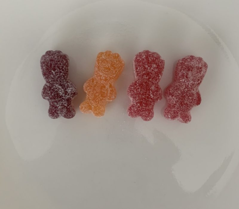 Four sour patch kids
