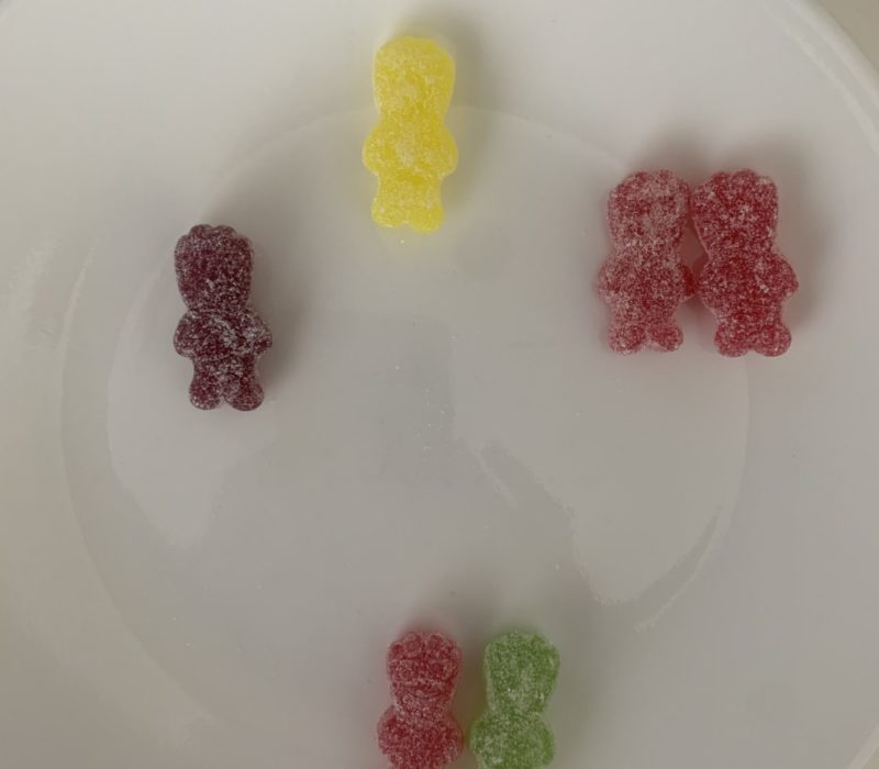 Six sour patch kids