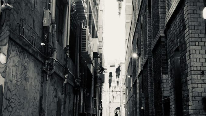 China town during the ban