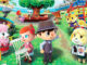 The figures in the game: Animal Crossing