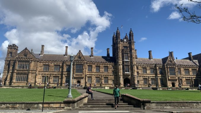 The Quadrangle at The University of Sydney