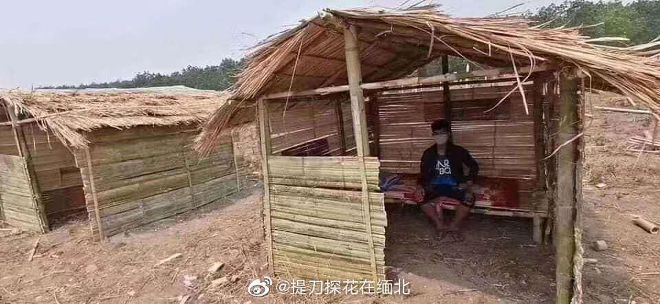 A humble hut for mandatory quarantine