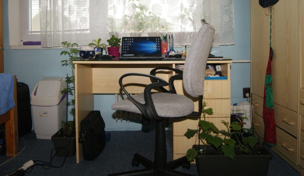 Martina's workplace