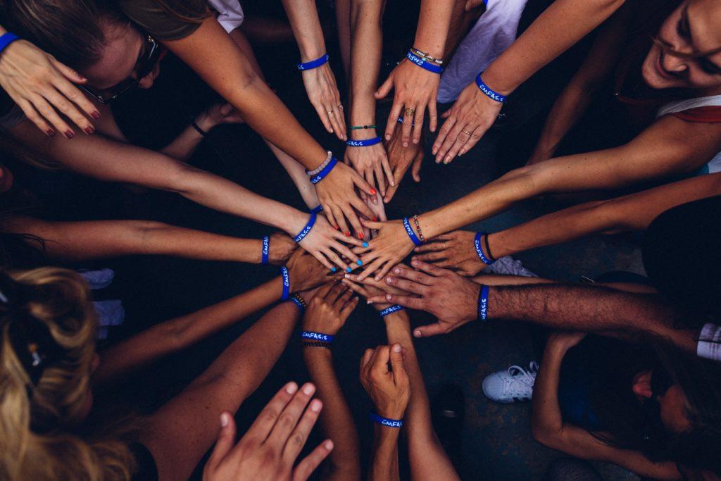 Hands, multiculturalism, diversity