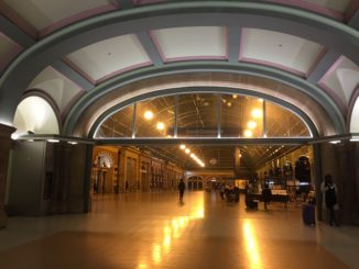 """The """"empty"""" Central Station"""