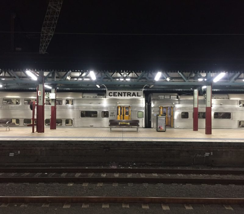 Central Station's platform