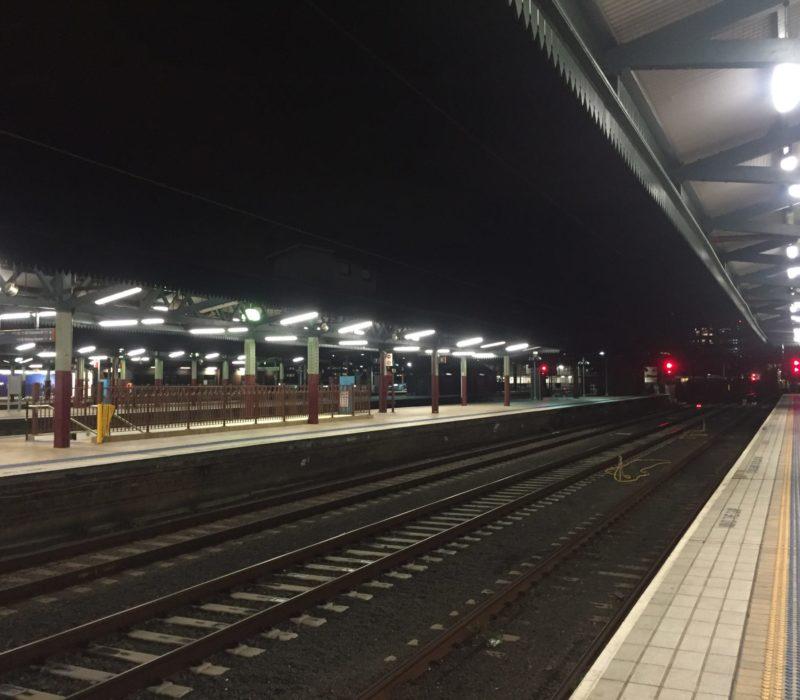 Central Station's empty platform-2