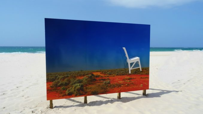 Art on beach